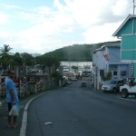 Picture of Bastian Sarh walking in St John.