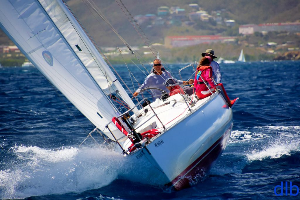 Upwind Sailing on Chili Pepper